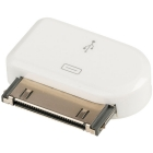 Adapter Apple 30-Pin Pin Dock Male To USB Micro White