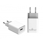 Charger Adaptor Travel 1Usb 2.1A White