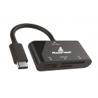 Card Reader Powertech Type C Black