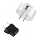 Charger Adaptor Travel Hoco C68 USB 5V/2.4A White