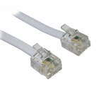 Cable Phone RJ11 6P4C 10m Gray