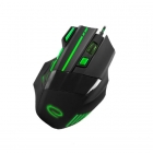 Gaming Mouse Wired Wolf 7 Keys 2400dpi EGM