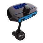 FM Transmitter LCD Monitor QC 3.0 USB SD Bluetooth