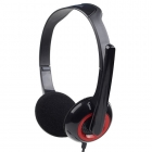 Headset Gembird Stereo 3.5mm Black