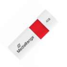 USB Flash Drive 2 MediaRange 4GB Color Edition Red