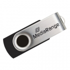 USB Flash Drive 2.0 MediaRange 4GB Black/Silver