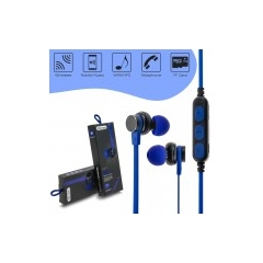 Bluetooth Headset Magnetic MS-T1 Blue
