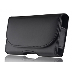 Θήκη Universal 5 Book Leather Black