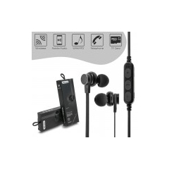 Bluetooth Headset Magnetic MS-T1 Black