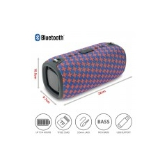 Portable Bluetooth Ηχείο Φορητό Xtreme3 Red Cross Blue