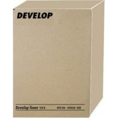 Laser Toner Develop Type 104 Black 2-pack