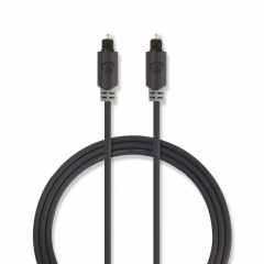 Cable TosLink Nedis Male TosLink Male 3m