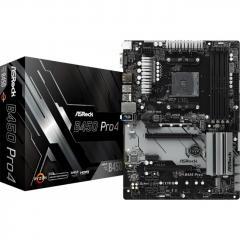Motherboard Asrock B450 Pro4 Socket AM4 ATX AMD B450