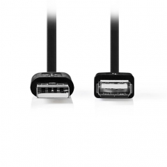 Cable Extender USB 2.0 Α M To USB A F 1.0m