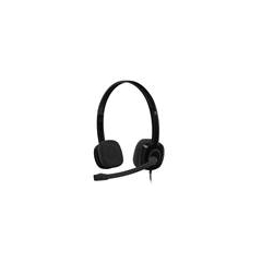 Headset Logitech H151 Wired Black