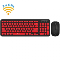 Set Keyboard & Mouse Wired Alcatroz Jellybean A2000 B.Red