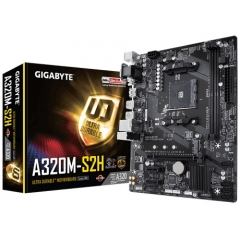MotherBoard Gigabyte A320M-S2H AM4 4GB
