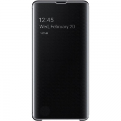 Θήκη Samsung Galaxy S10+ Clear View Cover Black
